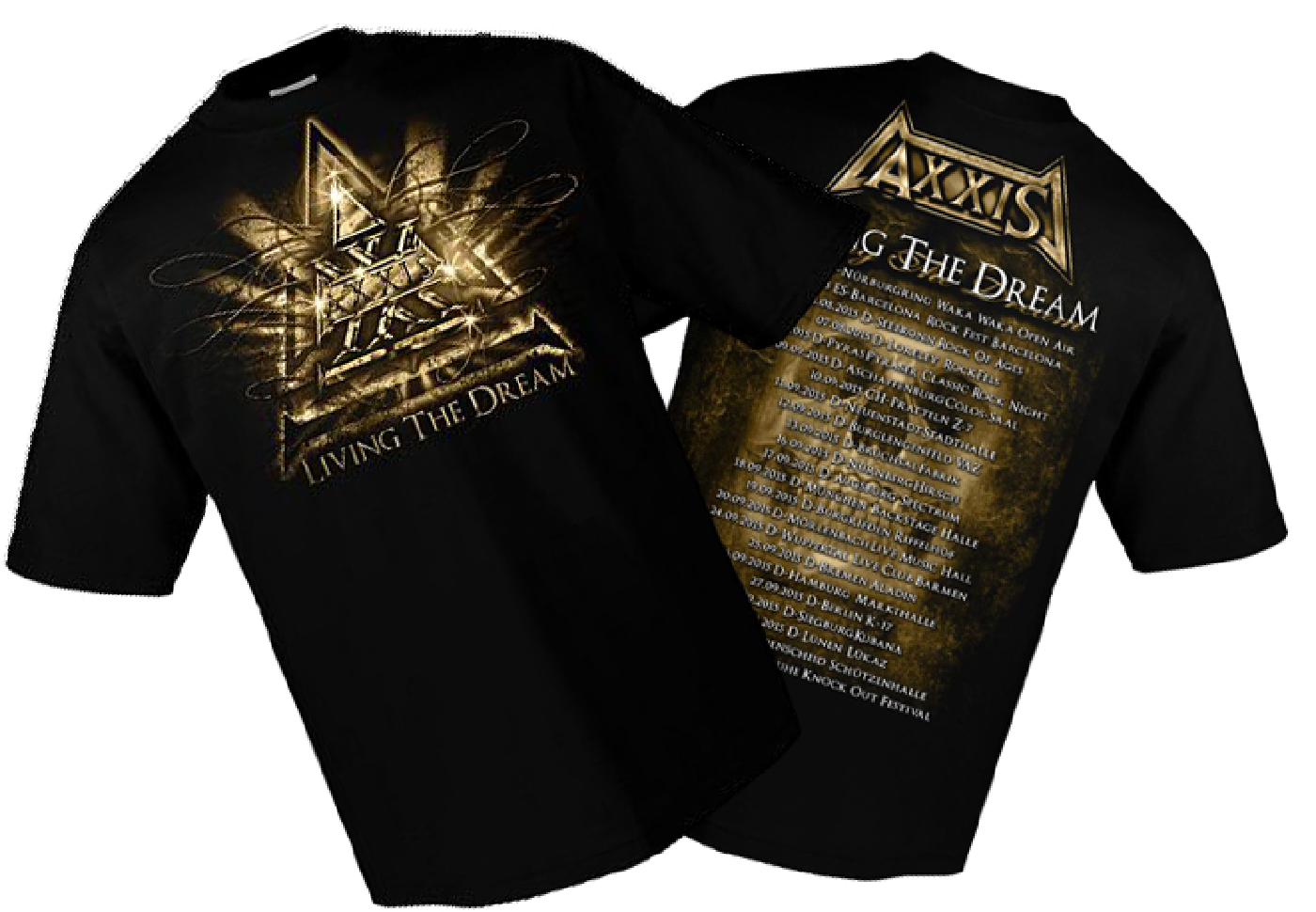 axxis merchandising shirts cd. Black Bedroom Furniture Sets. Home Design Ideas